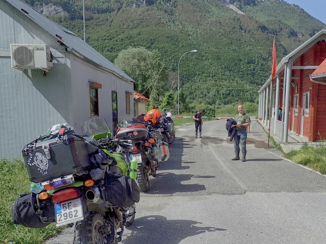 albanie prechod